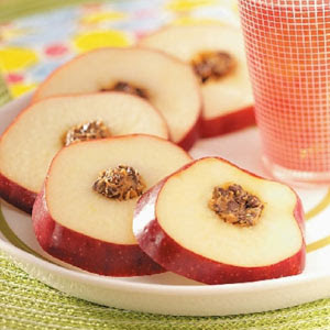 Gourmet Apple Cartwheels Appetizer Recipe