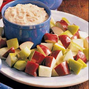 Gourmet Apple Brickle Dip Recipe