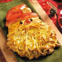 Golden Santa Christmas Bread Recipe