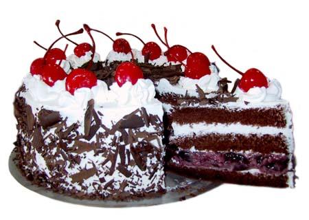 German Black Forest Cake Easy Recipe
