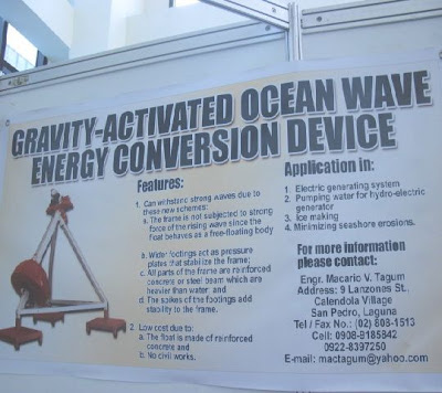 Ocean Wave Energy Conversion Device