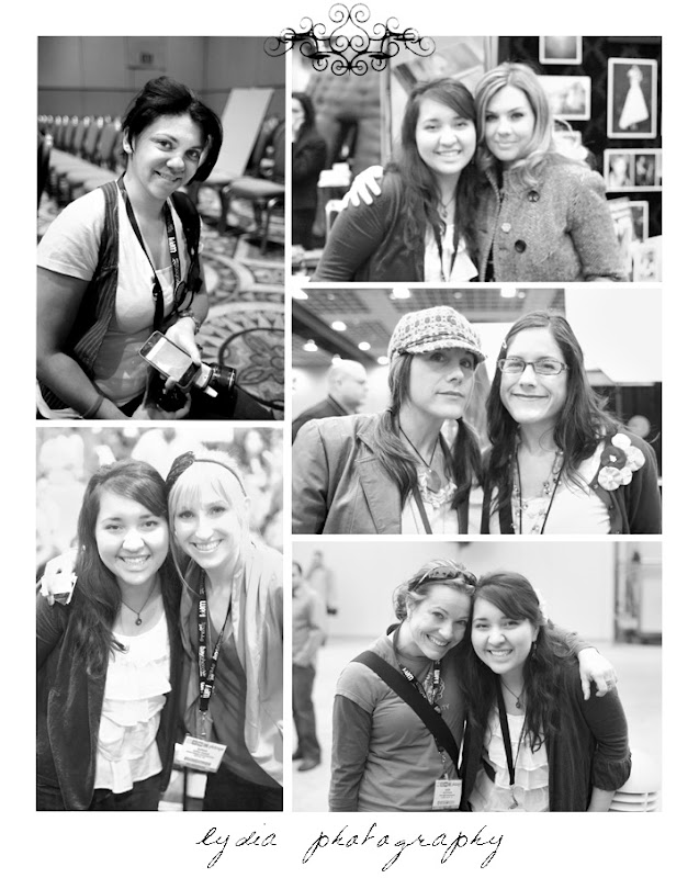 Feuza Reis, Lydia, Anna Costa, Jules Bianchi & Joy Bianchi Brown, Sarah Rhoads, and Heidi at WPPI in Las Vegas, Nevada