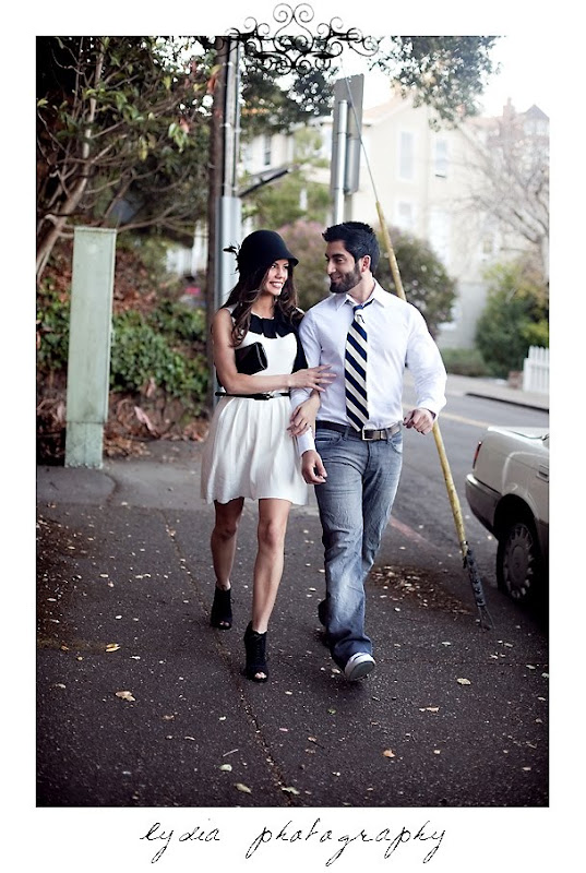 Jamie and Soheil's portraits in Sausalito California
