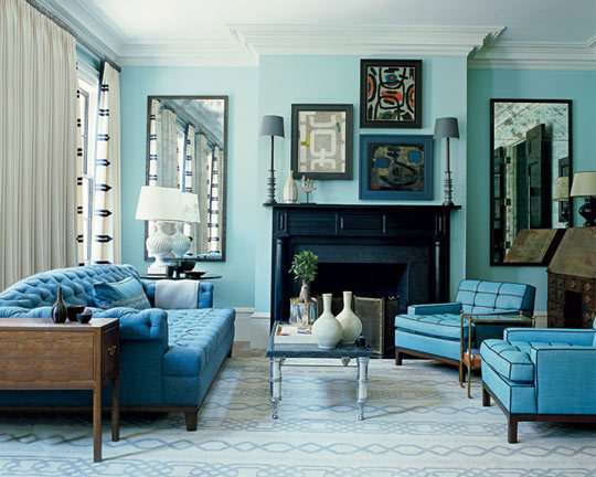 Description  Turquoise+colored+living+room+via+AptTherapy