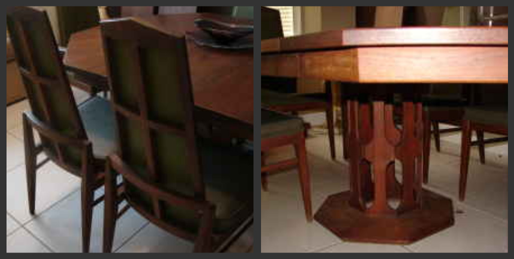 Antique Wood Dining Room Sets