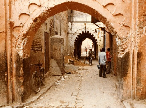 The Streets Of Morocco