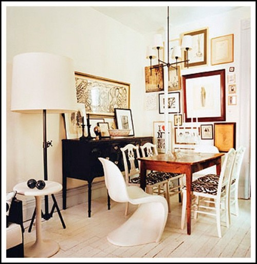 Inspire bohemia artful arrangements part ii for Framed pictures for dining room