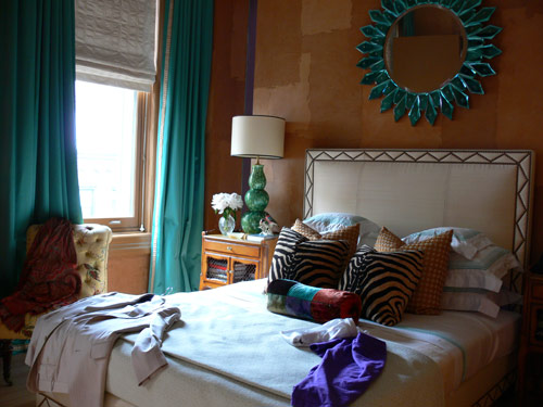beautiful purple and turquoise bedroom for girls interior design
