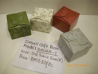 Green Paper Gift Boxes; Kraft Paper Boxes Supply * Kuala Lumpur ...