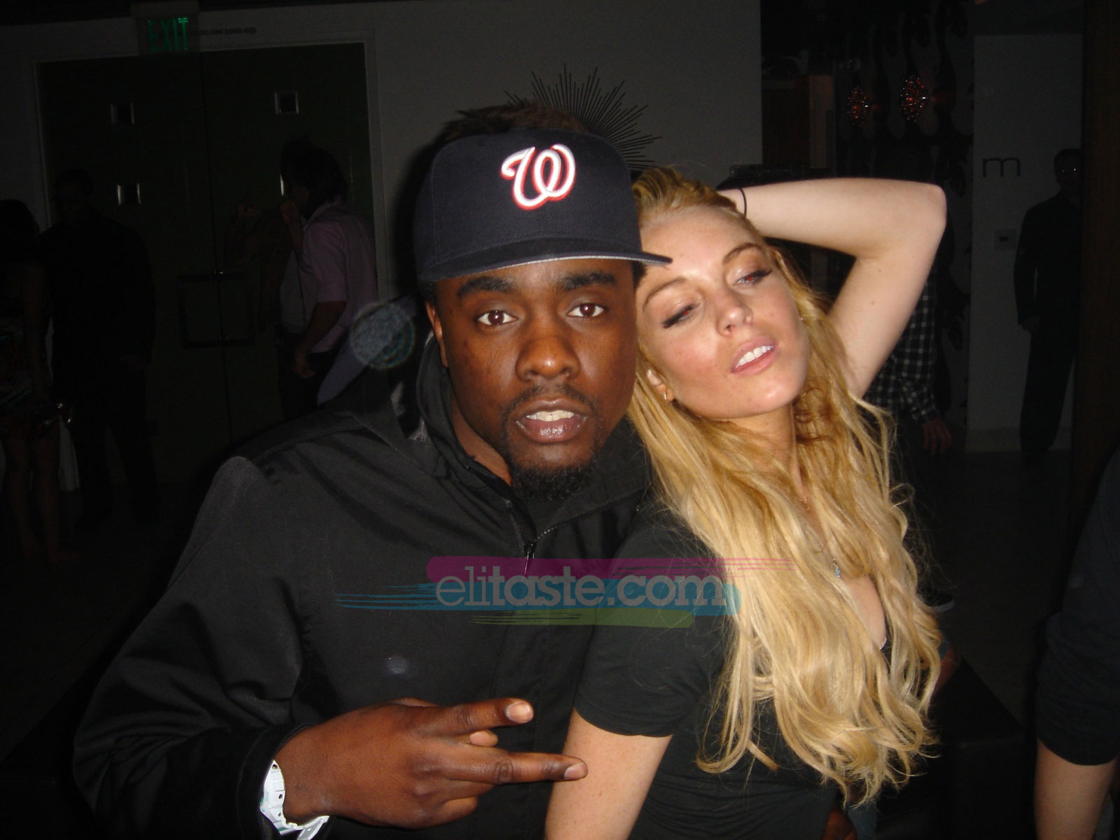 Wale and Lohan