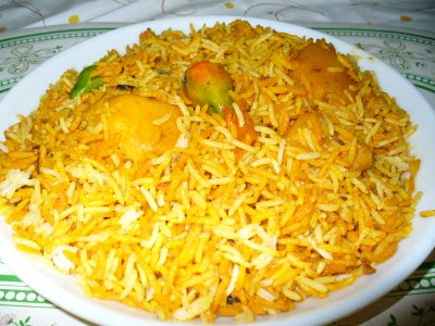 Hyderabadi Chicken Biryani