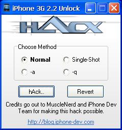 unlocked  iphone 3g