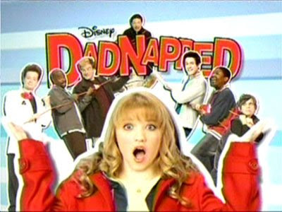 dadnapped  disney channel