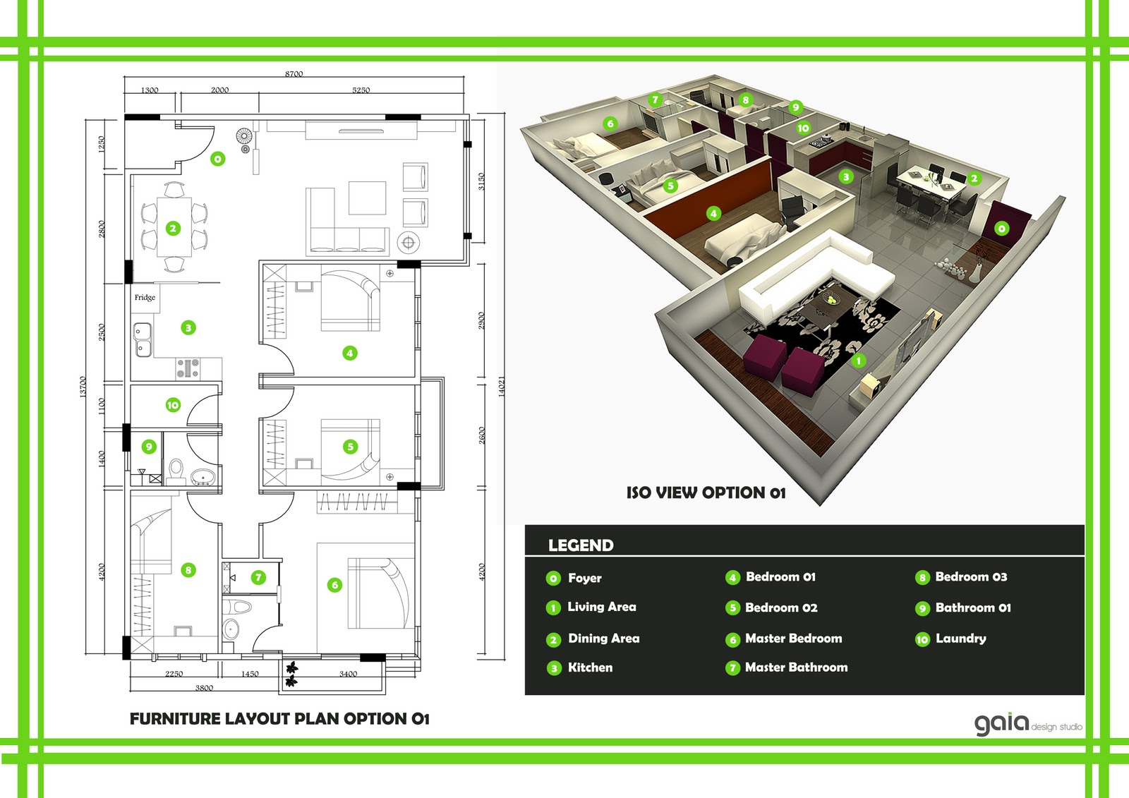 Apartment Drawing Plans