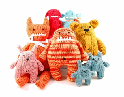 Ugly Doll Knitting Pattern Free : Simulacra: Making: Monsters!