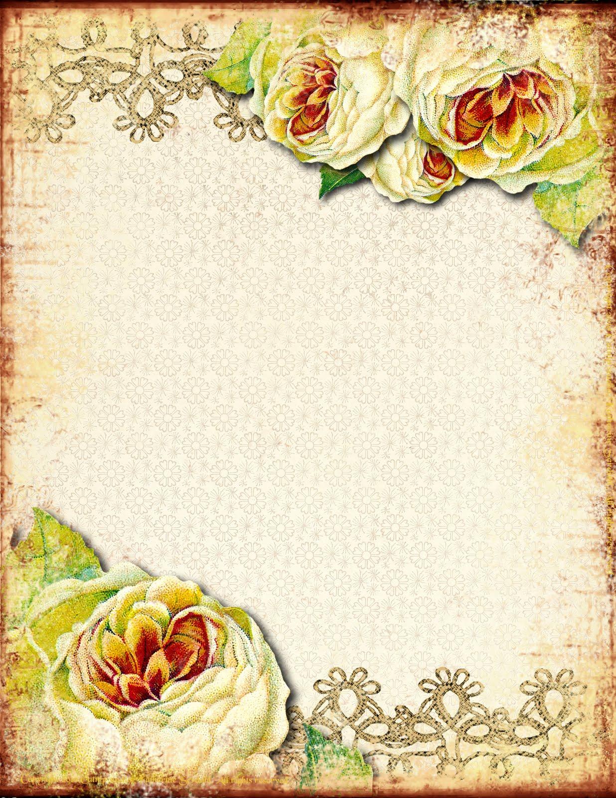 Создание фона в открытках