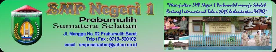 SMP Negeri 1 Prabumulih