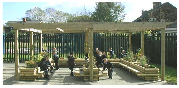 Outdoor Classroom Ideas Uk : Hastings school playground design an outdoor classroom