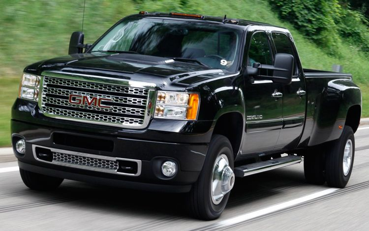 Luxury toys 2011 gmc sierra denali 3500hd
