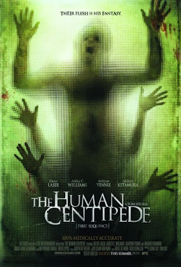 Con Rết Người - The Human Centipede (2009) Poster