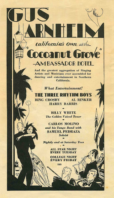 (Video) The Three Rhythm Boys At The Cocoanut Grove