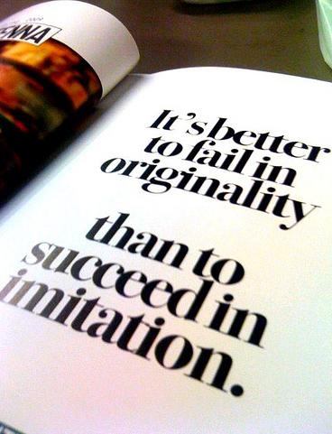 Originallity Kills.