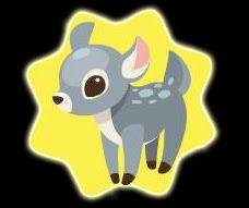 REGALOS PARA TU PET! Grey+deer+plushie