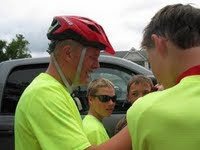 Cycle4Hope Team of Riders - Barrett