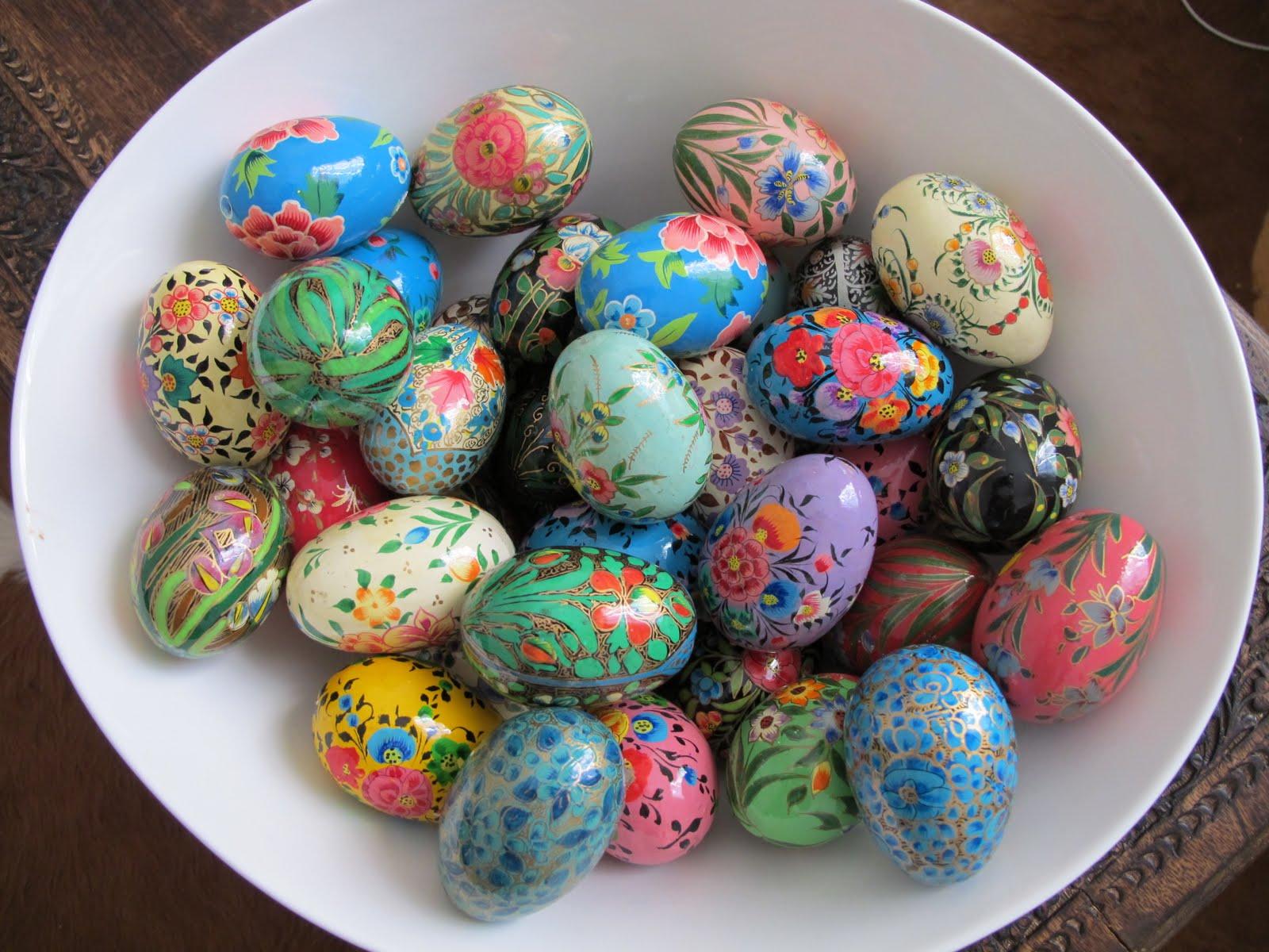 Оригинальные яйца для пасхи своими руками