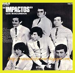 CONTRAPORTADA DE ALBUM IMPACTOS EDICION PERUANA