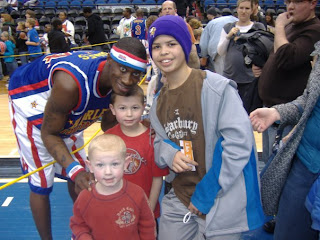 Harlem Globetrotters at Target Center Minneapolis