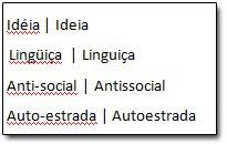 Teste da reforma ortográfica
