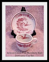 Jackson Pinkhummigbird Cup Set - click to view full size