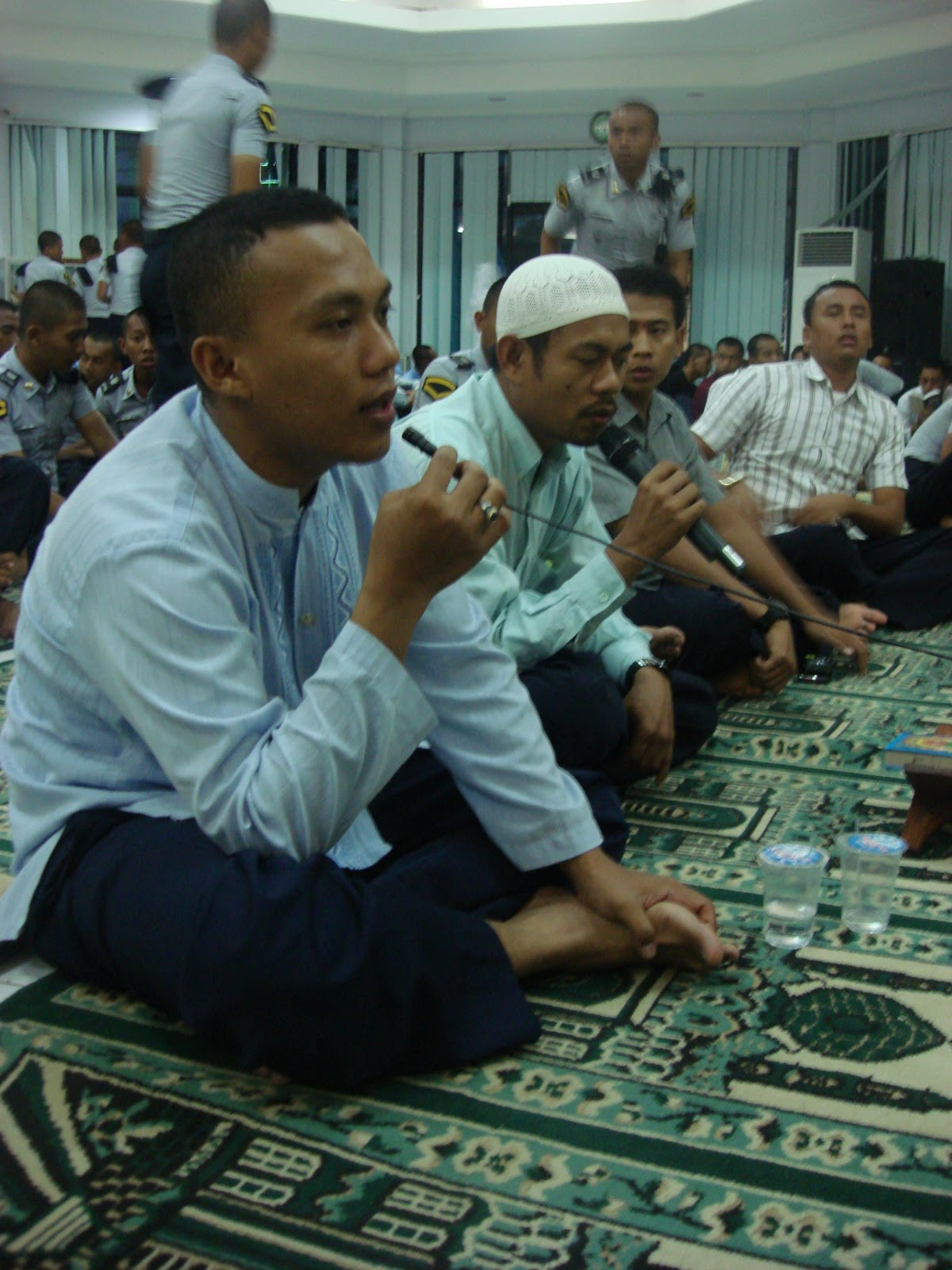 acara dilanjutkan dengan pembacaan do'a Qotmil Qur'an dan Pembacaan Do