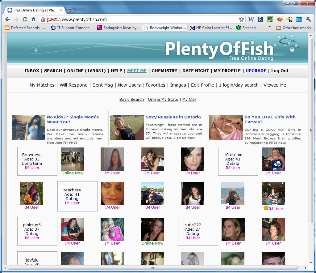 What is the plenty of fish dating site for Plenty of fish free search