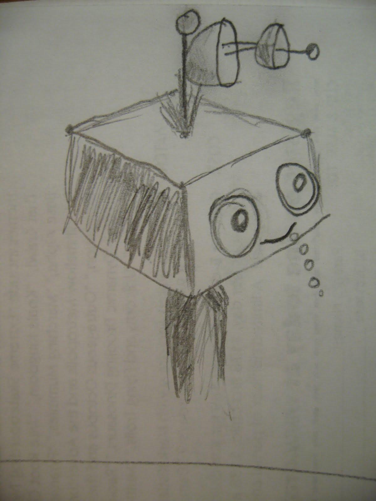 robot op school