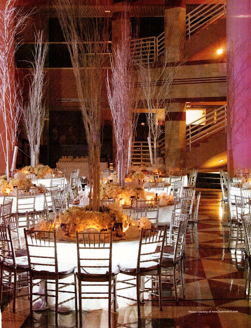 Winter Wedding Reception Centerpieces Ideas