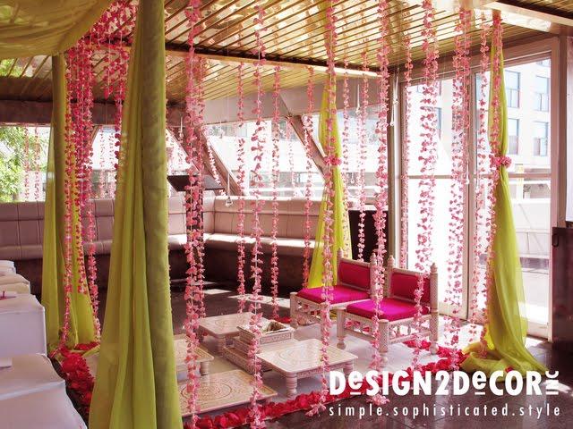 The hindu wedding mandap thinking outside the mandap for Decoration ka photo