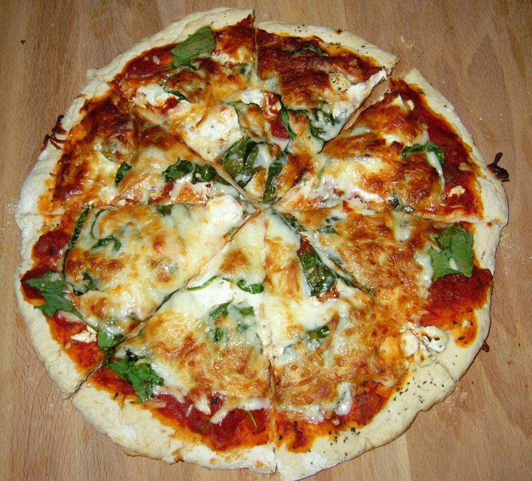 homemade pizza recipes below