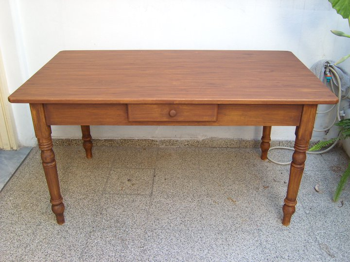 Deco project mesa de campo imitacion madera - Mesa de campo ...
