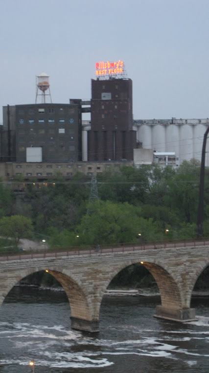 Stone Arch Bridge crossing The Mississippi River in Minneapolis
