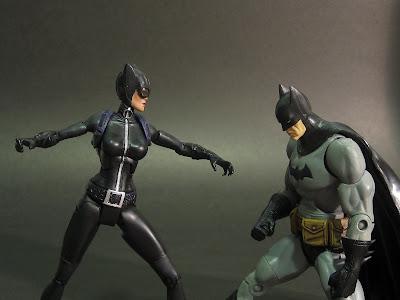 Catwoman Batman Cartoon. DC Superheroes Catwoman on