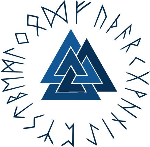 Valknut Symbol Pendant Wallpaper Runes