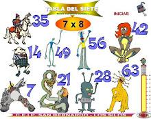 TÁBOA DE MULTIPLICAR X 7