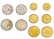 Compra con billetes e moedas