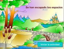 ESCAPARÓNSE OS ESPAZOS DAS FRASES