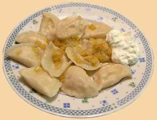 perohê - prato nacional ucraniano. modo de fazer