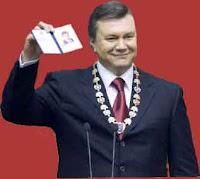 Victor Ianukovitch - presidente da Ucrânia, conduz o país para a União Soviética