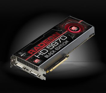 XFX FORCE ATI RADEON HD 5970 2GB DDR5