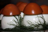 Фаршированные яйца - Мухоморы